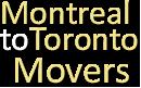 Montreal Toronto Movers